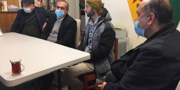 Demokratik Güçbirliği'nden İmam Şiş'e ziyaret