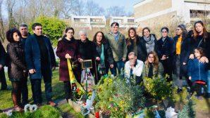 İlham Ahmed, Mehmet Aksoy'un Mezarını Ziyaret Etti