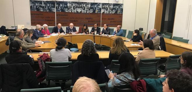 Londra Parlamentosunda Toplantı:'Açlık grevini Boby Sands'tan biliriz'