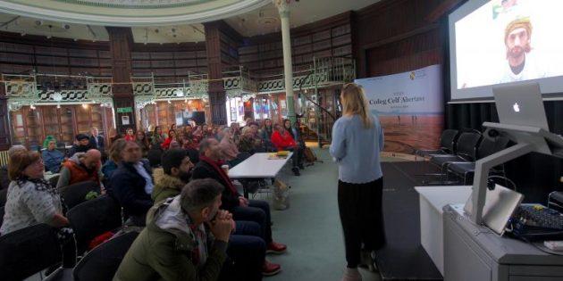 Swansea'da Şiş'le dayanışma paneli
