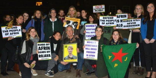 Britanyalı Devrimci Helin Qereçox Londra'da Anıldı