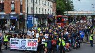 Binlerce Kişi 'Barış'lar Ölmesin' diye yürüdü