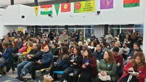 Britanya'daki Kürt öğrencilerden Rojava ile 'anlamlı' dayanışma