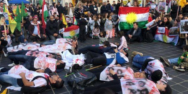 İşgale karşı Britanya'nın 4 bir yanında 'kitlesel' protesto