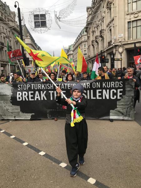 Londra'da binler işgale öfke yağdırdı