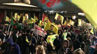 Londra'da Türk işgaline karşı protestolar devam ediyor