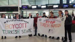 İngiltere'de Türk işgaline karşı 'öfke' protestoları sürüyor