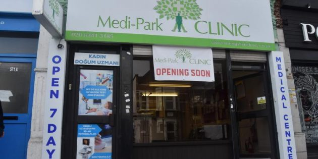 Haringey'de Medi–Park Clinic açılıyor