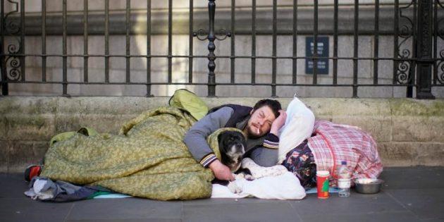 Sokaklarda yaşayanların sayısı %165 arttı