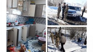 Askerler köy bastı evlerin altında 'kamp' aradı