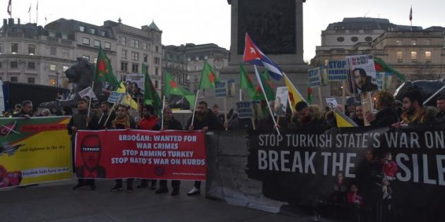 NO TO ERDOĞAN! NO TO NATO!