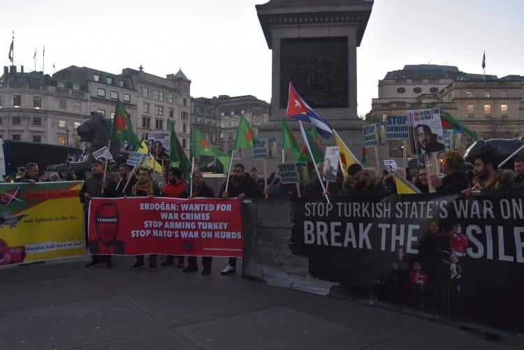 NO TO ERDOĞAN! NO TO NATO!