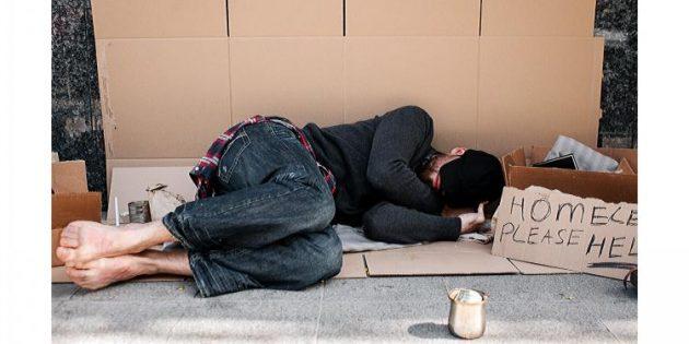 İngiltere'de 'evsizlik' öldürüyor
