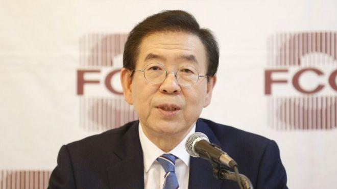 Kayıp Seul Belediye Başkanı Park Won-soon ölü bulundu