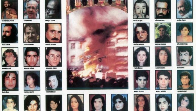 Sivas Katliamı'nda yaşamını yitirenler anıldı: Sorumluları cezalandırılsın