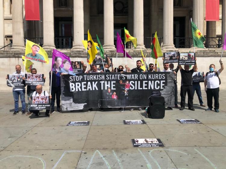 Londra'dan Soykırıma Tepki : Şengal'i Asla Unutturmayacağız