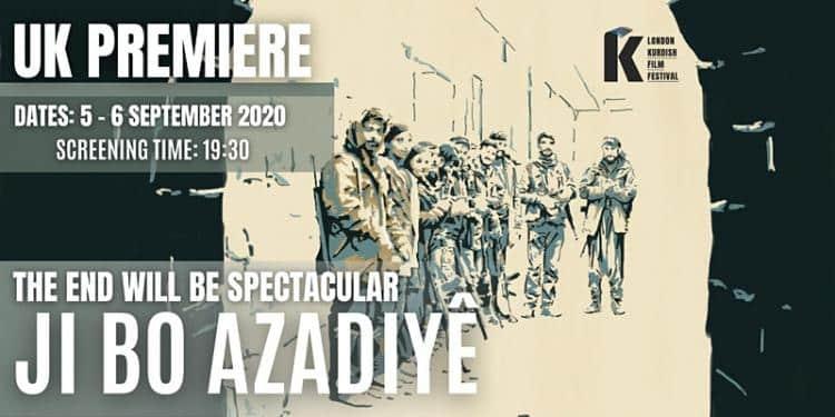 'Ji Bo Azadiyê' filmi 5-6 Eylül'de Londra'da gösterilecek