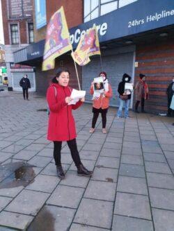 Londra SKB'den Sarah Everard ve şiddete karşı sokakta eylem de!