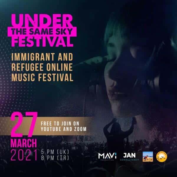 Göçmen ve Mülteci Müzik Festivali online gerçekleşiyor
