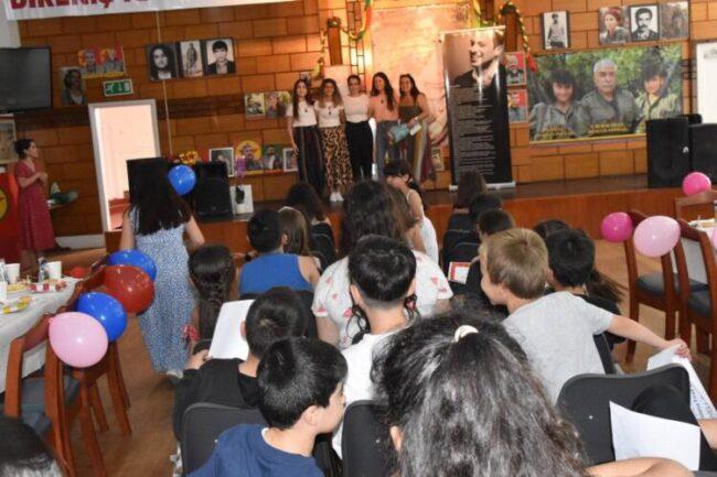 Dıbıstane Firaz Dağ Okulu'nda 'mezuniyet' heyecanı