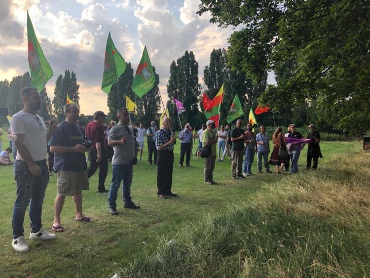 Londra'da Rojava Devrimi kutlandı